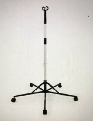 Pitch-it Sr Iv Pole By Sharps Double Hook Folding Portable Roller Stand 30006
