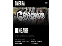 1 x general admission ticket for Genghar at Omeara