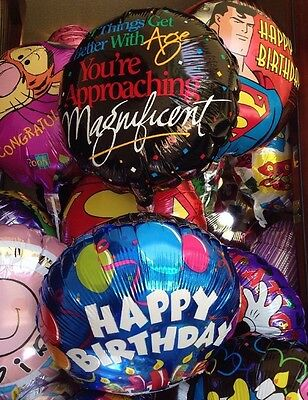 HAPPY BIRTHDAY Get Better With Age Approaching Magnificent party BALLOON 20 Lot