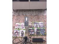 Xbox 360 & 10 Games