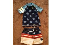 6-9 month baby boy swimming suit