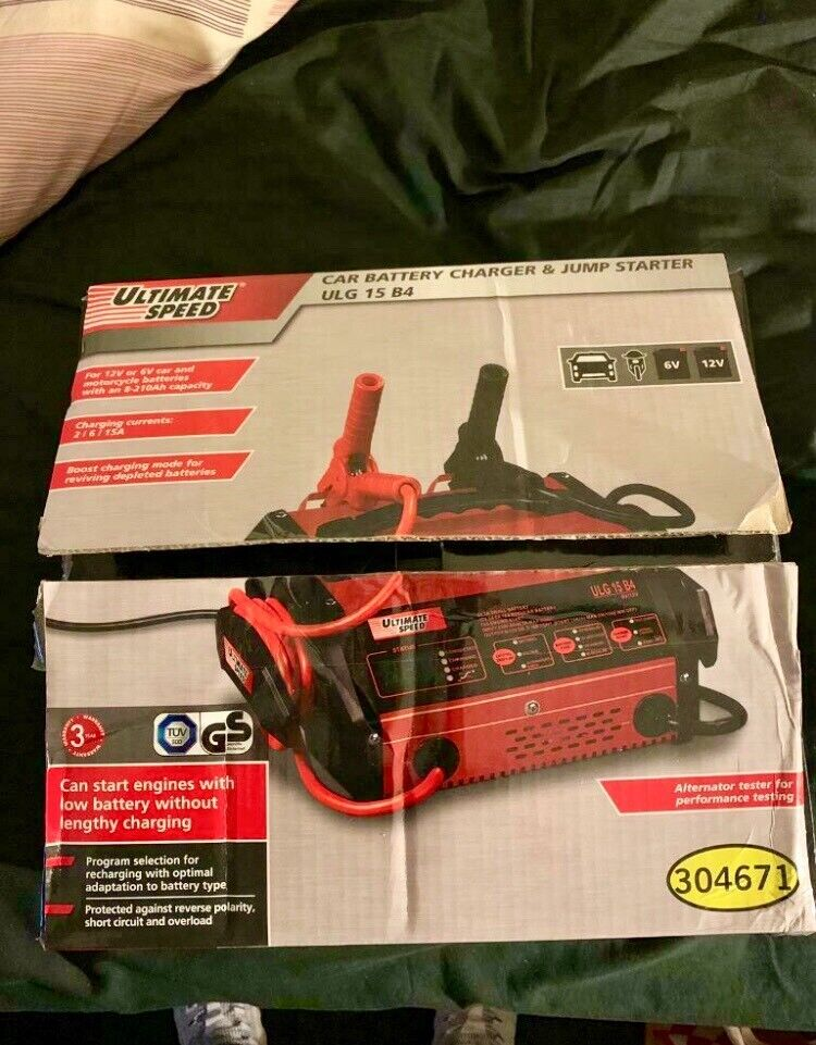 Car Battery Charger/Jump Start Pack | in Plymouth, Devon | Gumtree