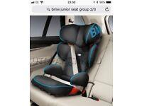 BMW car seat - Junior 2/3 Car seat - Isofix Blue rrp £259