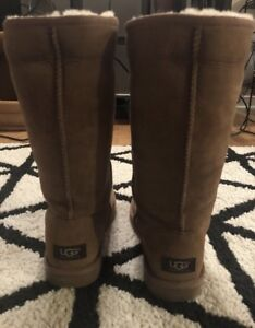 Authentic UGG Classic Tall Boot - size 7, chestnut