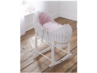 Two clair de lune Moses basket for sale