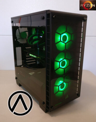 Amd Ryzen Threadripper 1950x Liquid Cooled Rtx 2080 Gaming Editing Computer