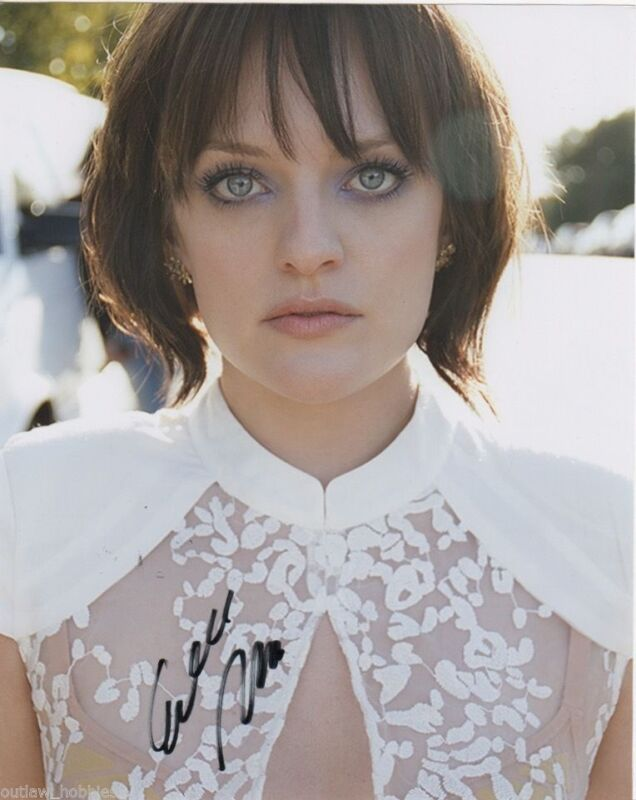 Elisabeth Moss Autographed Signed 8x10 Photo COA #1