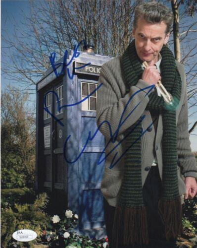 Peter Capaldi Doctor Who Autographed Signed 8x10 Photo JSA COA #8