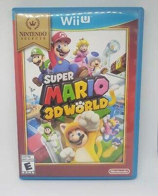 Super Mario 3D World Nintendo Selects Video Game for Wii U WiiU
