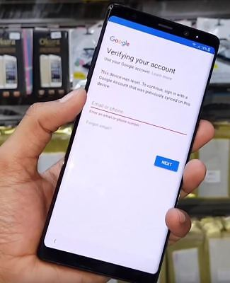 Google Account Frp  Bypass  Removal For Samsung Galaxy Note 8