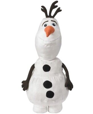 "Frozen II 2 OLAF 24"" Plush Large Snuggly Snowman Disney Stuffed Pillow"