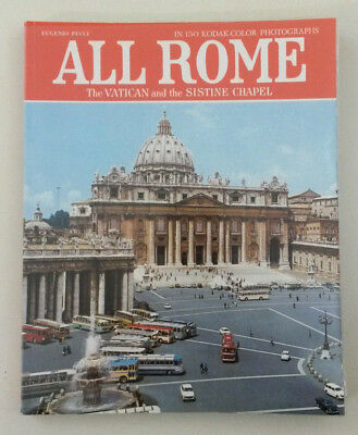 Rome Italy The Vatican Sistine Chapel Photographic Travel Guide 150 Photos 1984
