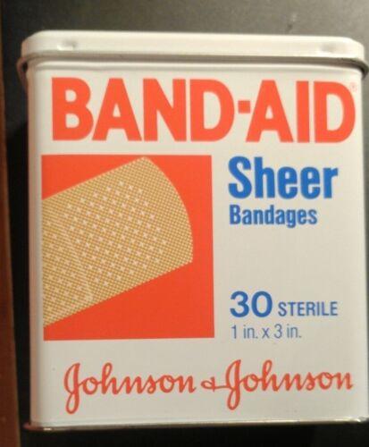 Band Aid Tin Vintage Collectible
