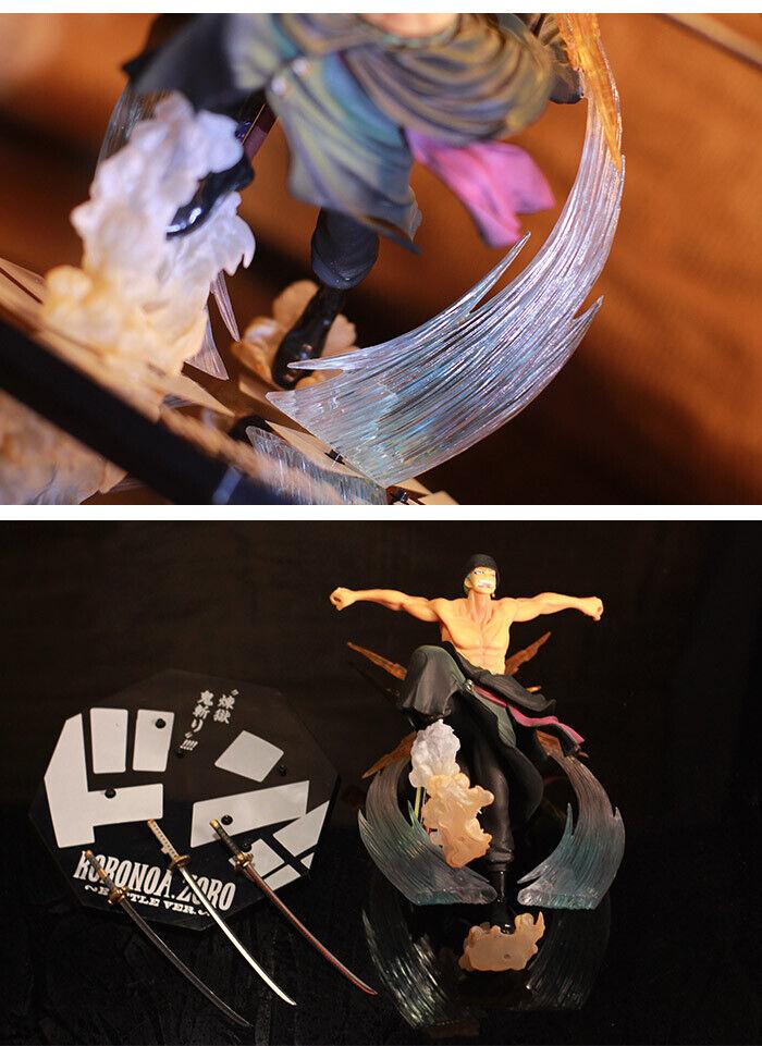 Anime One Piece Roronoa Zoro Purgatory Sneaky 2 Years Later Action Figure Model