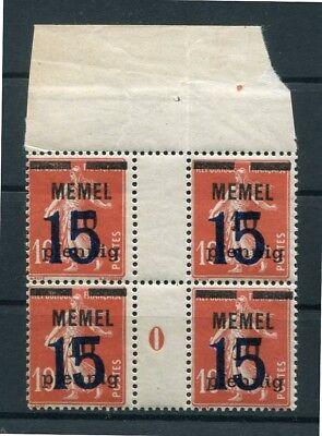 MEMEL 34ZW MS ZWISCHENSTEG POSTFRISCH B0755