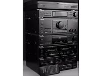 TECHNICS SU-X502 DIGITAL HIFI SYSTEM - ALL STAND ALONE SEPERATES (MIDI SIZE) REMOTE