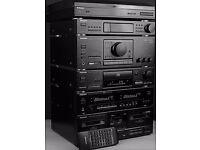 TECHNICS SU-X502 DIGITAL HIFI SYSTEM - ALL STAND ALONE SEPERATES - FULL REMOTE - SPEAKERS