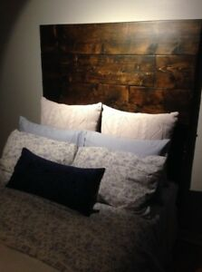 FREE Solid wood double bed Headboard