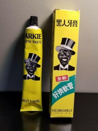 Vintage DARKIE TOOTH PASTE - Japan Market Packaging - Hawley & Hazel NOS