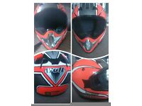 Extra small childs motorbike/ quad helmet