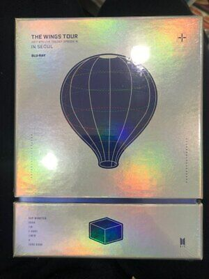 BTS 2017 The Wings Tour In Seoul Live Trilogy Episode III Blu Ray Sealed Rare