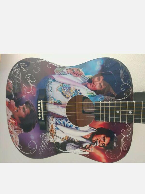 RARE BRADFORD EXCHANGE ELVIS PRESLEY GUITAR ROCKIN' W/ THE KING OF ROCK 'N' ROLL