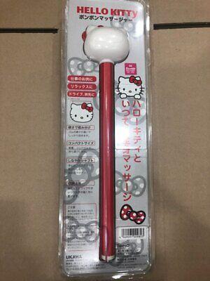 Hello Kitty Pon Pon Massager Massage Stick Wand Shoulder Back Tapping
