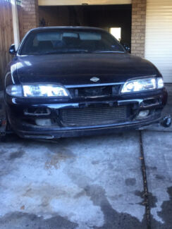 WRECKING PARTING OUT Nissan 200SX S14 LUXRY SILVIA