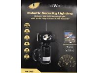Brand New 16w LED Outdoor security ROBOTIC Floodlight camera Recording WiFi HD Cctv