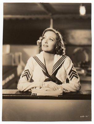 JOAN CRAWFORD lovely portrait I LIVE MY LIFE 1935 Vint Orig Photo