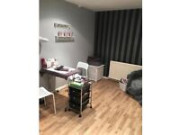Therapy Room available in busy hairdressers