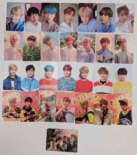 BTS Love Yourself Her Official Photocard L O V E Ver Jungkook V Jimin Suga RM