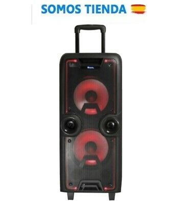 NGS Wild Rock Altavoz Bluetooth 200W Micrófono