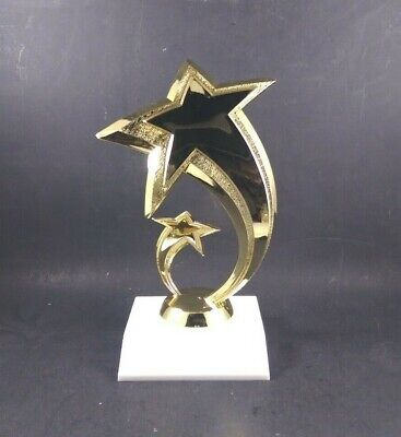 Gold Star Trophy . Free Engraving. - Gold Star Trophies