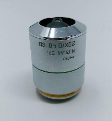 Leica Microscope Objective N Plan Epi 20x0.40 Bd 566067