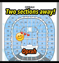 Oprah tickets Melbourne X 4 $130 each WORTH$175 Macedon Ranges Preview