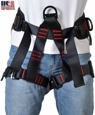 Roofing Safety Harness Construction Protection Tool Tree Climbing Waist Strap 1