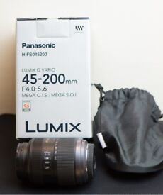 Panasonic 45-200mm f4.0-5.6 LUMIX G Micro 4/3 Zoom Lens