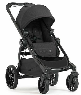 Baby Jogger City Select Lux Compact Fold All Terrain Stroller Granite NEW