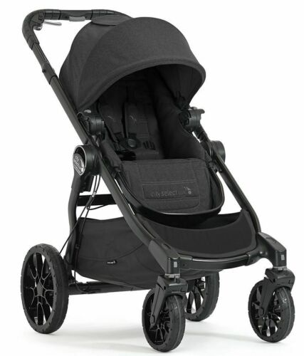 Baby Jogger City Select Lux Compact Fold All Terrain Stroller Granite Open Box