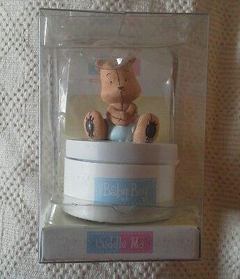 Cuddle me -  baby boy tinket box gift. bnib.