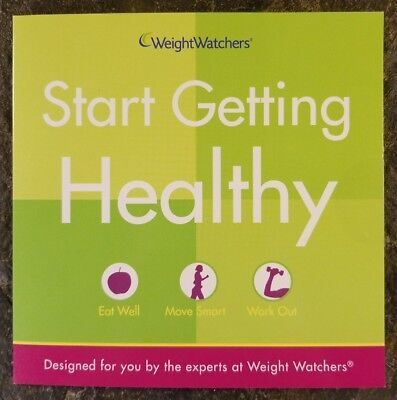 Weight Watchers Start Getting Healthy: Eat Well, Move Smart, Work Out (DVD 2007)