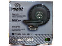 15 INCH SUBWOOFER - MAGNAT XPRESS 1501 - MAX POWER 400 WATTS