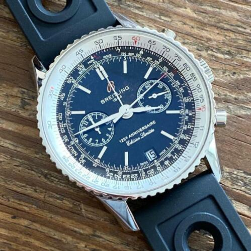 BREITLING NAVITIMER 125TH ANNIVERSARY LIMITED EDITION A26322 WATCH 100% GENUINE - watch picture 1