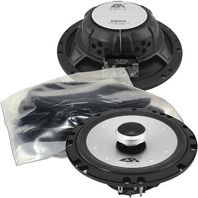 ESX SE 62 Koax Lautsprecher Set passend für Mercedes CLK W209 Tür v
