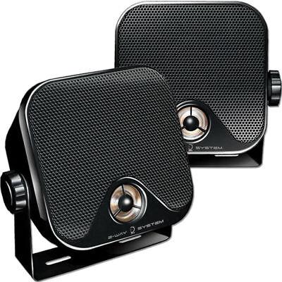 Dietz CX-4MB Aufbaulautsprecher für Auto Camping Wohnwagen Marine Lautsprecher