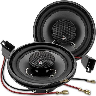 Dietz CX-120 - 12cm Koax Lautsprecher Paar für VW T4 Seite Heck 1990 bis 2003