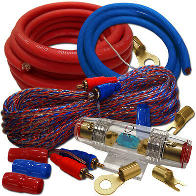 Dietz 23087-BAG 20mm² Kabel Set Car-Hifi Auto Kabel-Satz