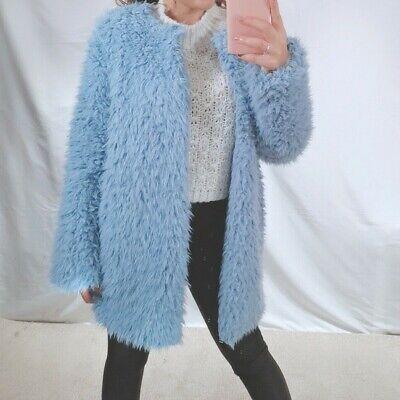 Giacca donna eco pelliccia giaccone cappotto teddy cappottino pelo rasato 8261
