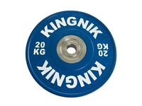 Bumper Olympic Weight Plates 20kg x 2 - Brand New Boxed